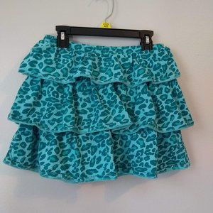 Blue Leopard Print Gymboree Skort